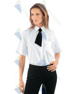 ISAAC WOMAN SHIRT M / M WHITE POL / COT