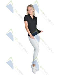 WHITE JERSEY LONG LEGGINGS COT.95% ELAS