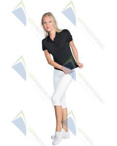 SHORT WHITE JERSEY LEGGINGS COT.95% ELA