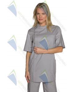 CASACCA DENTIST M / M BOTT.PRESS. GREY