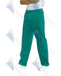 PANTS W / GREEN BAND SURGERY COT