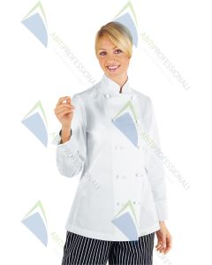 CHEF JACKET LADY COT.100%