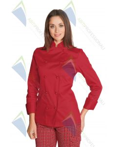 RED JACKET LADY POL / COT