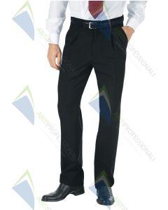 PANTS BLACK MAN POL.100%