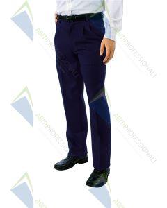 PANTS BLUE MAN POL.100%