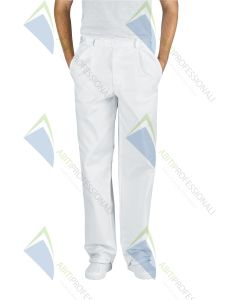 WHITE PANTS COT.100%