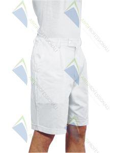SHORTS WHITE COT.100%