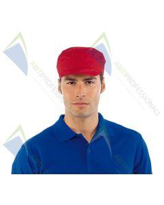 SAM HAT RED POL / COT