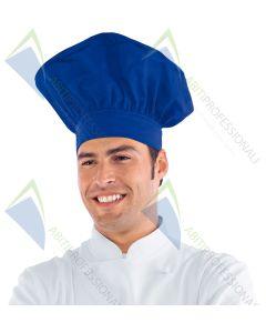 CHEF HAT BLUE CHINA POL / COT