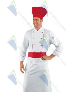 CHEF HAT RED POL / COT