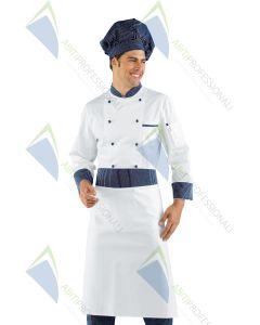 VIENNA BLUE HAT COOK COT.100%