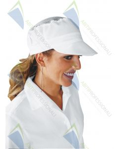 CHARLY BLACK HAT WITH NET COT.100%