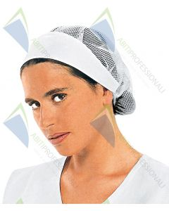 CAP WOMEN C / NETWORK WHITE COT.100%