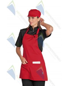 PICCADILLY APRON RED POL / COT