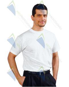 WHITE T-SHIRT COT.100%