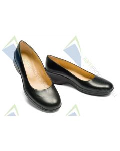 WOMEN'S SHOE BLACK SLIP