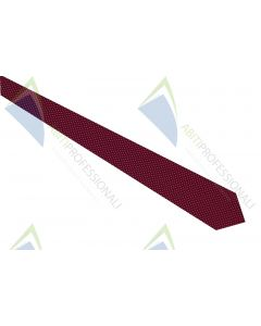 BORDEAUX NEEDLE POINT TIE 100% SILK
