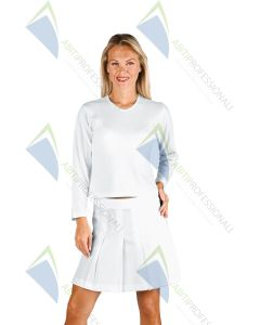 STRETCH T-SHIRT M / C LONG WHITE 95%