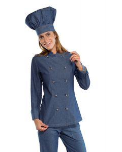 GIACCA LADYCHEF 100% COTONE ISACCO