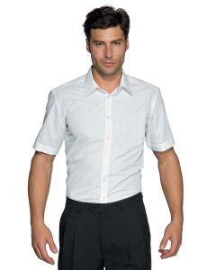 CAMICIA CARTAGENA MEZZA MANICA SLIM STRETCH ISACCO