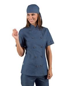 GIACCA LADYCHEF M/M 100% COTONE ISACCO