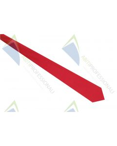 TIE RED POL.100%