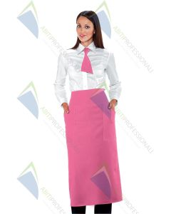 VERSAILLES FUCHSIA APRON WITHOUT GAP