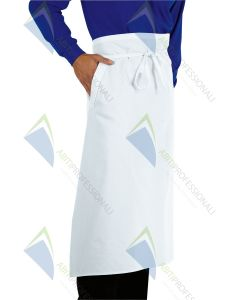FRENCH WHITE APRON CM100X90 COT.1