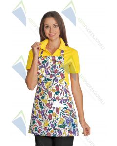 APRON PICCADILLY PEPPER COT.100%