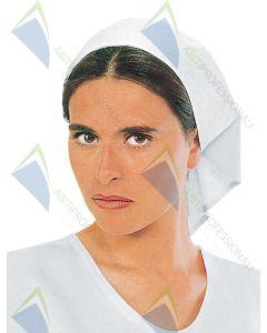 HEADGEAR WHITE COT.100%