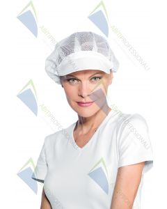 CAP WOMEN NETWORK WITH VISOR WHITE COT