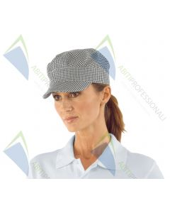 SAM HAT HOUNDSTOOTH COT.100%