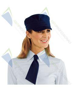 SAM HAT BLUE POL.100%