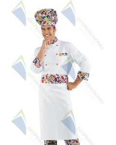 CHEF JACKET PEPPERCHEF COT.100%
