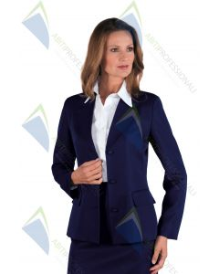 BLUE JACKET PORTLAND POL.100%