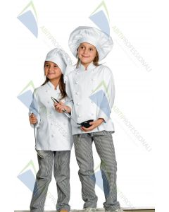 CHEF JACKET WHITE BABYCHEF COT.100%